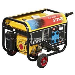 Benzin-einzelner Zylinder-Generator Em-3500