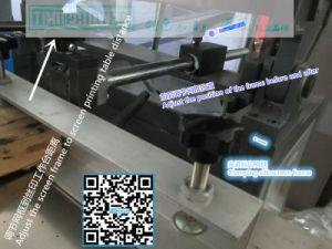 高精度斜めアームクラムシェルスクリーンの印字機
