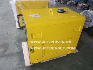 Ce Approuver 3kw 4 kw 5 kw 6 kw 7 kw Moteur diesel refroidi par air Silencieux générateur portatif