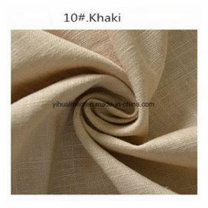 Calças de tecido de linho, tecido Gament, vestir a camisa pano tecido, tecido saia