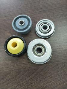 Carcasa de plástico Precision cojinete Transportador de rodillos del transportador componentes