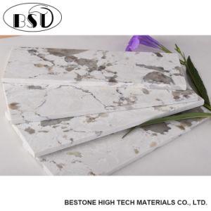 台所および浴室を人工的な水晶石を見る標準的な花こう岩