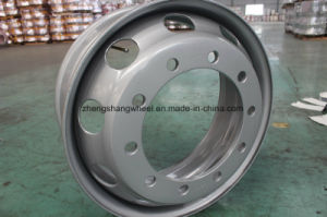 Carretilla de ruedas de acero de alta calidad, Rim, ruedas de acero