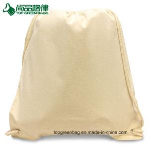 Fördernder Baumwollsegeltuchdrawstring-Gurt-Beutel-Rucksack-Beutel