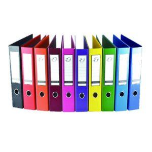 인쇄된 덮개를 가진 잡지 파일 서류꽂이 상자