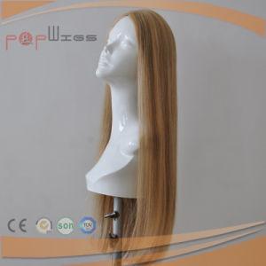 肩の長さのブロンドのブラジルの毛のユダヤ人の上層(PPG-l-0444)