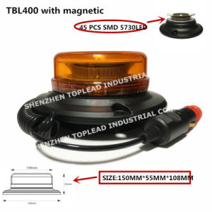 Strobe PC IP65 5730 levou a lâmpada de aviso de tráfego da Luz Giratória com reflexão Cup