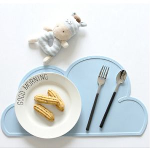 Grau alimentício Placemat de crianças de Silicone