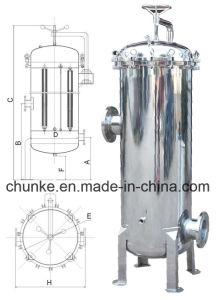 De oppoetsende Huisvesting van de Filter van het Water van het Roestvrij staal in de Patroon van pp