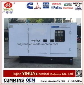 gerador Diesel silencioso de 20kw/25kVA Lovol com o alternador de Stamford da cópia (25-200kVA/20-160kw)