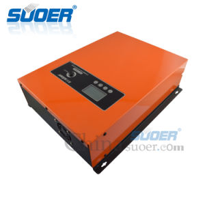 Suoer 800W 12V 230 В гибридных бесперебойного питания инвертора Чистая синусоида инвертор с зарядным устройством (FPC-T1800ВА)