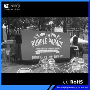 P3mm de haut taux de rafraîchissement des écrans de mur vidéo RVB Affichage LED