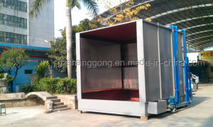 Sala de pintura de alta qualidade Revestimento a pó de cortina de água cabine de pulverização