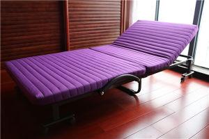 Tamaño doble cama plegable de metal