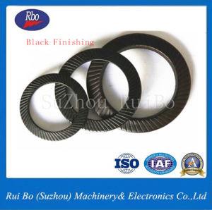 Finition noir / bleu de zinc, acier inoxydable / DIN EN ACIER AU CARBONE9250 la rondelle de blocage