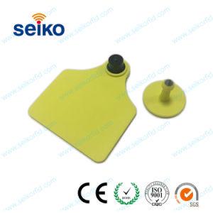 Wholesale 13.56MHz RFID marca auricular de animal para el ganado