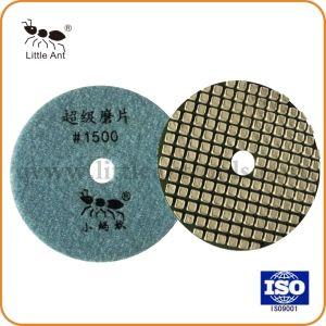 4 pouces de Super Diamond Tampon à polir à sec pour Counter-Top et le béton