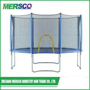 Grande Piscina Kids Sports Rodada Bungee Jumping trampolim com gabinete