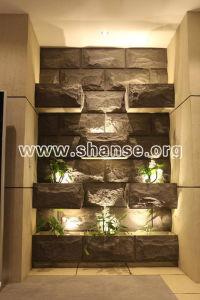 カスタマイズされた軽量の柔らかい花こう岩の自然なきのこの石のタイル