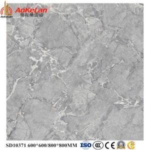 ontwerp van het Exemplaar van de Tegels van de Vloer van het Porselein van 600X600mm het Volledige Verglaasde Opgepoetste Marmeren