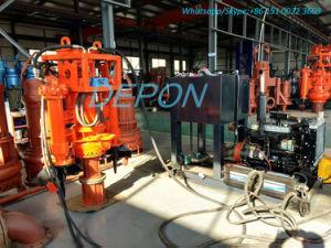 Grande pompa ad acqua sommergibile idraulica della sabbia dei residui di dimensione delle particelle