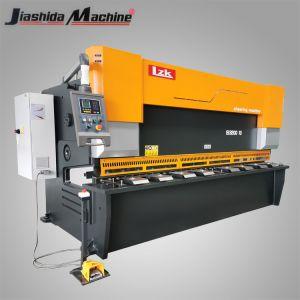 10X3200mm 판금 유압 CNC 단두대, 탄소 온화한, 금속 강철을%s 깎는 절단기 Ss 의 CS, 강철판