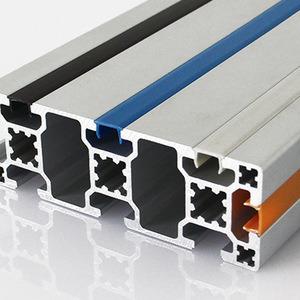 Material de bastidor de aluminio de extrusión de perfiles de aluminio de ranura en T