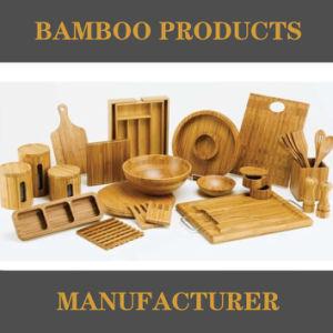 Eco friendly 100% ecológica Mayorista de Productos de bambú