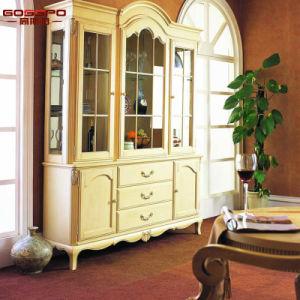 أثاث لازم بيتيّ [روس] خشبيّة أبيض صورة زيتيّة خمر منصب جريدة مسنّنة ([غسب19-014])