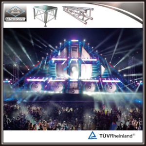 DJのイベントのトラス屋外コンサートパフォーマンストラスアルミニウム照明段階のトラス