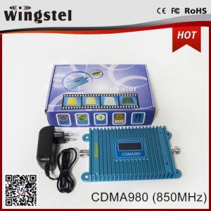 El área de cobertura de 1000 metros cuadrados de 2G CDMA 850 MHz Mini Amplificador de señal con antenas para el hogar
