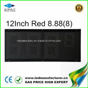 12 LED  Affichage de la station de gaz (TT30SF-3R-orange)