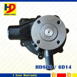 6D14 de Pomp van het Water HD800 voor de Uitrusting van de Motor van Mitsubishi