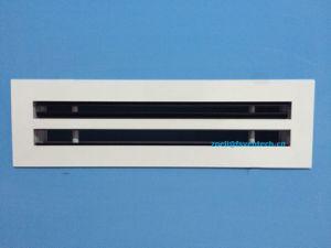 Слот для кондиционирования воздуха диффузор, вентиляция алюминия линейный разъем диффузор