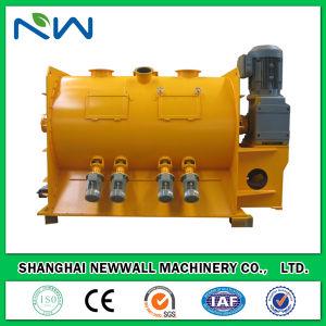 2000L mortier sec de la machine de mélangeur de charrue