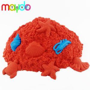 Comercio al por mayor rojo arena cinética Edcational Magic Kids Play juguete de arena