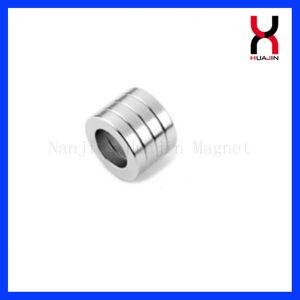 Permanente Imán de neodimio de gran tamaño del anillo