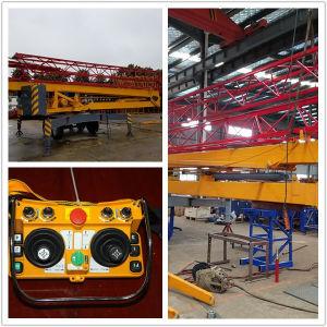 Kraan van de Toren van de Motor van het Hijstoestel van Genset 18.5kw van de Vervaardiging van Pully de Ingebouwde Vouwbare Mobiele (MTC20300)