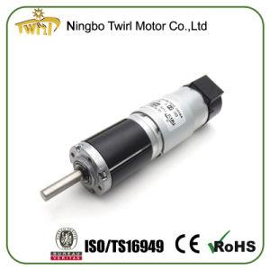 Comercio al por mayor 28mm de alto par a bajas revoluciones DC Moto reductor