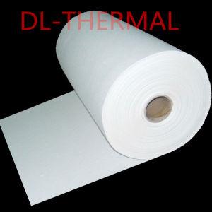 Papel ignífugo y el aislamiento térmico de fibra cerámica de papel (1350) el grado de temperatura