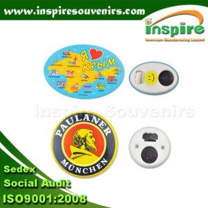 Le fer blanc Fridge Magnet pour les touristes collecte, le frigo en plastique PVC personnalisés&Autocollant (FMJ109)