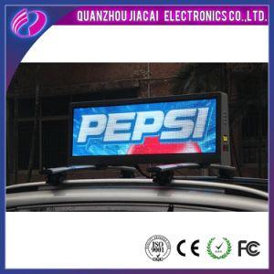 Double sans fil côté écran LED de toit de Taxi Taxi affichage LED