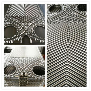 동등한 Vicarb V4/V7/V8/Vu8/Vu12/V13/V20/V28/V45/V55/V60V/V85/V100/V120/V130/V180/V260 틈막이 격판덮개 열교환기