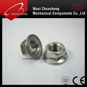 La norme DIN6923 l'écrou à embase hexagonale en acier inoxydable avec la certification ISO