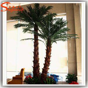 Fake Artificial decorativos direto da fábrica da palmeira de Washington