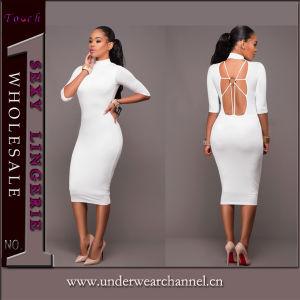 Unión Última moda Sexy Lady parte Slim vendaje vestido de noche
