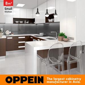 8 metri quadri cucina di stile moderno a forma di U di piccola (OP16 ...