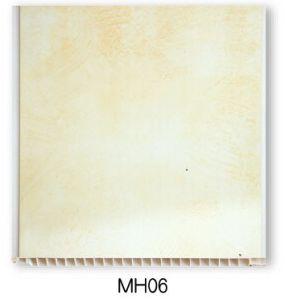 Dessins et modèles artistique moderne de la résine de PVC Salle de bains la tuile de bord (MB06)