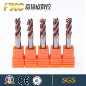 Handige HRC55 4 Molen van het Eind van het Carbide van Fluiten de Stevige Vierkante