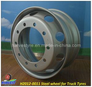 大型トラック9.00X22.5のための鋼鉄車輪